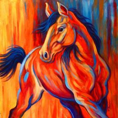 Google Image Result for http://cdn.dailypainters.com/paintings/sunset_frolic__colorful_horse_painting_horses__animals__426dd7df30cab30247b6db7c62e7ab42.jpg