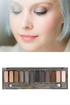 Love this soft and sultry look.  Achive this look with the Urban Decay Smokey Palette from Ulta Beauty.