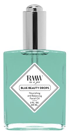 Raaw in a jar | Blue Beauty Drops at NICHE BEAUTY