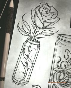 Pencil drawing - Art Sketches Ideas - Survive # pencil drawing fix . - Heart - Pencil drawing Art Sketches Ideas still survives - Pencil Art Drawings, Art Drawings Sketches, Tattoo Drawings, Sketch Drawing, Sketching, Anime Sketch, Drawing Reference, Tattoo Sketch Art, Design Reference
