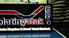 Platin Yatak Logo ve Tabela Çalışması