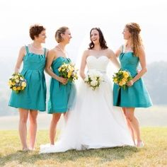 Some helpful inspiration and tips for choosing the best bridesmaid dresses for your bridal party!