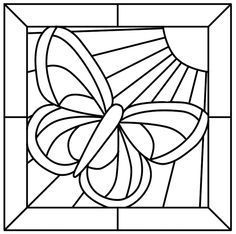 Printable Stained Glass Window Coloring Page - Coloring Pages For . - Printable Stained Glass Window Coloring Page – Coloring Pages For … – Coloring Home - Stained Glass Patterns Free, Stained Glass Quilt, Faux Stained Glass, Stained Glass Projects, Stained Glass Windows, Free Mosaic Patterns, Glass Painting Patterns, Quilt Patterns, Butterfly Mosaic