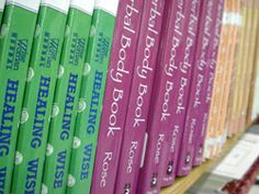 Books about herbal healing
