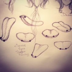Snake Eyes Tongue Piercing Study by YunikuSenshi on DeviantArt Snake Eyes Tongue Piercing, Eye Piercing, Ear Peircings, Ear Piercings Helix, Double Tongue Piercing, Tongue Rings, Belly Button Piercing, Body Piercings, Piercing Tattoo