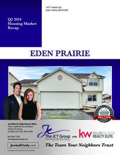 The JCT Group's success in Eden Prairie.