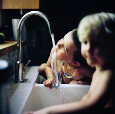 Double sink bum baths!