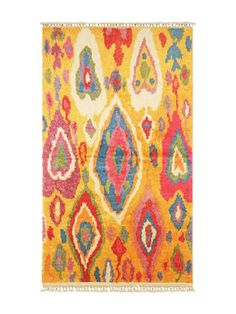 Tulu Hand-Woven Wool Turkish Rug by Nalbandian at Gilt