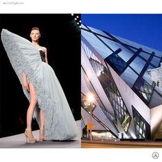 Architect_Daniel Libeskind in Fashion . . . . . #DanielLibeskind #Highfashion #hautecouture #Archilovers #Architecture #Design #Collaboration #art #photooftheday #Fashion #Dailysnap #photography #art #건축 #디자인 #t소통 #nyclife #ny #travel #snap #photo #beautiful #패션 #建築 #likeforlike #follow4follow #ファッション #設計 #设计 #时尚 #建筑