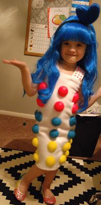 CANDY DOTS : Katy Perry Costume.