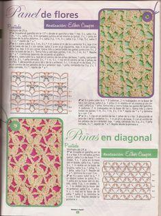 Revistas de crochet y tejidos gratis: clases de puntos para crochet                                                                                                                                                      Más