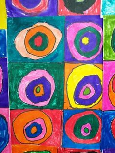 WHAT'S HAPPENING IN THE ART ROOM?? Kandinsky circles