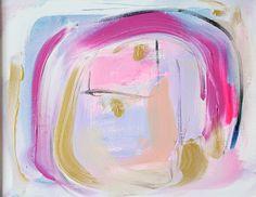 Heartfelt - an original painting by Jen Ramos at Cocoa & Hearts