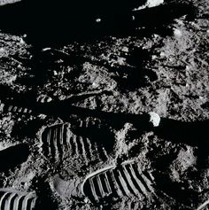 Maybe not the first in space, but we left the first and only marks on the moon.