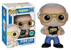 Now that NYCC is underway and the of 5 versions of the Stan Lee POP! is being released, the Stan Lee POP! Vinyl has just been reve.