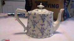Tea Pot - Rose Brocade by Skye McGhie
