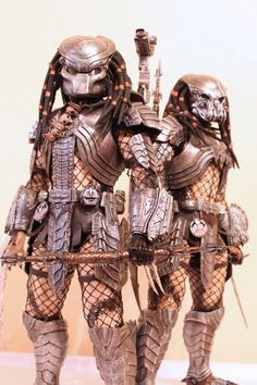 Hot toys, Scar and Celtic predator. From the collection of Toys210.