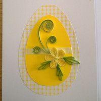 Velikonoční přání / Zboží prodejce tvorivky | Fler.cz Easter Crafts, Crafts For Kids, Paper Quilling Cards, Quilling Flowers, Quilling Techniques, Easel Cards, Handmade Greetings, Spring Crafts, Flower Crafts