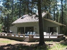 House vacation rental in Black Butte Ranch from VRBO.com!  Another possibility for us. :)
