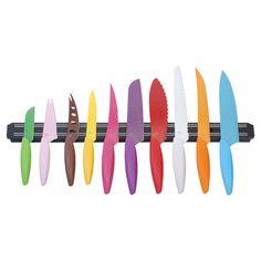 11-Piece Rainbow Knife Set