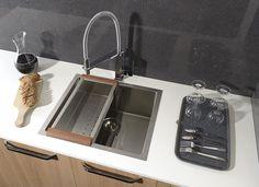 EPIC nerezový dřez 44x43x23 cm : SAPHO E-shop Bath Caddy, Bathroom, Shopping, Washroom, Full Bath, Bath, Bathrooms