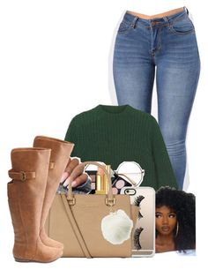 """""""Untitled #2781"""" by alisha-caprise ❤ liked on Polyvore featuring Monki, Maybelline, Tom Ford, Yves Saint Laurent, Casetify, MICHAEL Michael Kors and Charlotte Russe"""