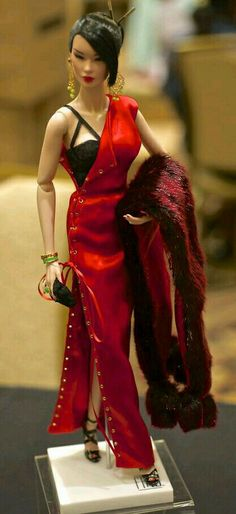 FAshion Doll in Red