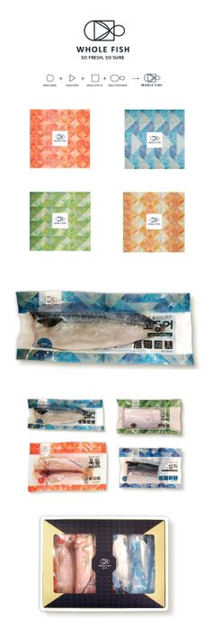 Whole Fish - Choungryong Fisheries. It's fish for lunch #packaging PD