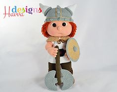 Tommy With Viking Costume