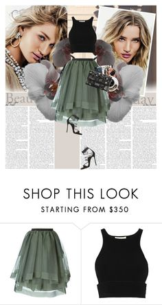 """""""Rosie Huntington-Whiteley"""" by alina ❤ liked on Polyvore featuring Whiteley, Antonio Marras, Jonathan Simkhai, Dsquared2 and Chanel"""