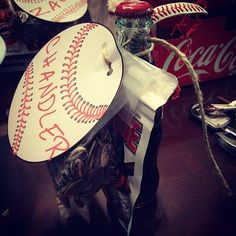 baseball gifts for players | Crafts Gifts and Party Ideas / Favors for Baseball Team Party