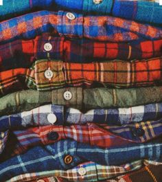 Bright flannels are nice too!