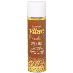 A great hairspray that contains vitamin e to help nourish your hair... I love it!