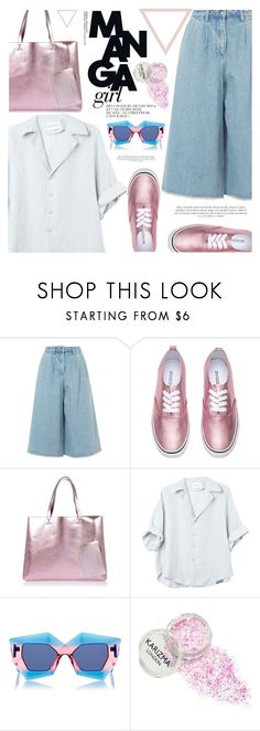 """""""always..."""" by ghdesigns-official ❤ liked on Polyvore featuring Edit, River Island, House of Holland, TrickyTrend, culottes and tsforjune9th"""