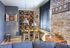 Znalezione obrazy dla zapytania małe mieszkanie w stylu loft