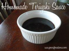 Homemade Teriyaki Sauce - Jen's Journey