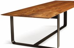 My dream dining table, from Skram Furniture. I will have you someday!