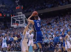 THE shot from Duke vs. UNC on February 8th, 2012.