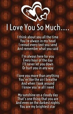 نتيجة بحث الصور عن i love you poems for him from the heart Love Mom Quotes, Love You Poems, Niece Quotes, Love Poem For Her, Poems For Him, Daughter Love Quotes, Soulmate Love Quotes, Romantic Love Quotes, Love Yourself Quotes