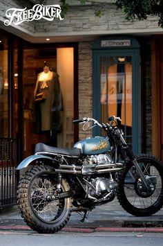 Mark Motorcycles - My Ideas & Suggestions Honda Bikes, Kawasaki Motorcycles, Triumph Motorcycles, Vintage Motorcycles, Custom Motorcycles, Custom Bikes, Steampunk Motorcycle, Scooter Motorcycle, Moto Bike