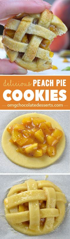 To tell the truth, these sticky, gooey Peach Pie Cookies are so addictive! I ate a whole bunch for breakfast.