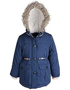 Carters Little Girls Filled Outerwear. >>> Read more at the image link. (This is an affiliate link) Latest Fashion Trends, Fashion Brands, Winter Puffer Jackets, Snow Wear, Canada Goose Jackets, Little Girls, Girl Fashion, Coat, Image Link