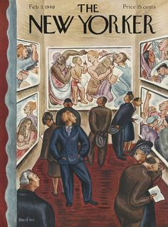 The New Yorker - Saturday, February 3, 1940 - Issue # 781 - Vol. 15 - N° 51 - Cover by : Virginia Snedeker