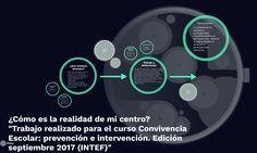 ¿Cómo es la realidad de mi centro? Elena García Barca. Professor, Learning, Centre