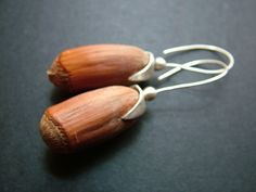 peanut earring sterling silver socket