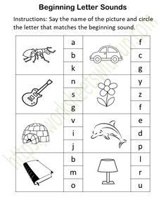 Letter O Worksheets, Homographs, Alphabet Phonics, Initial Sounds, Kindergarten Books, Preschool Learning Activities, Easy Crafts, Initials, Lettering