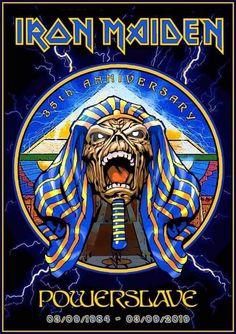 Metal On Metal, Heavy Metal Rock, Heavy Metal Music, Hard Rock, Music Pics, Music Artwork, Woodstock, Iron Maiden Posters, Iron Maiden Albums