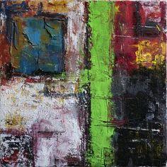 Abstract 0515 Mixed media abstract