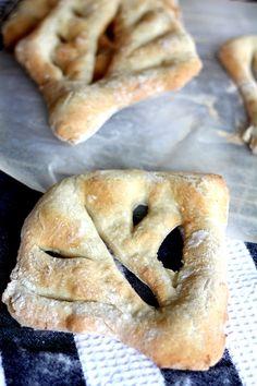 Pullahiiren leivontanurkka: Joulukalenterin luukku 12: Fougasse-leipä