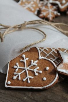 Gingerbread heart - don't mind if I do!